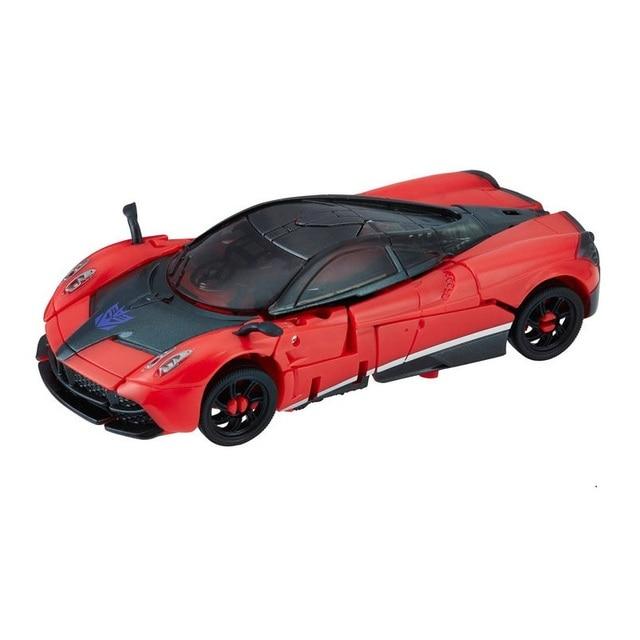 لعبة كلاسيكية للأولاد والأطفال طراز SS02 على شكل روبوت سيارة حمراء من طراز Dulex Class Stinger