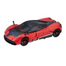 Stinger figuras de acción de Robot de coche rojo para niños, juguetes clásicos para niños, Serie de estudio, Dulex Class, SS02
