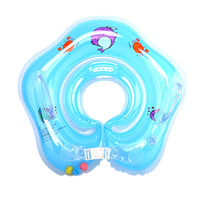 Baby Swimming Rings Double-decked Safety Floating PVC Inflatable Pool Float With Handle SAL99