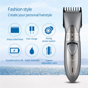 Image 2 - Professional Adjustable Rechargeable Electric Hair Trimmer Men Shaving Machine Hair Clipper For Men Kids Shaver Waterproof 3536