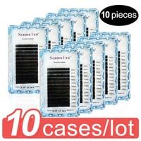 individual Eyelashes 100% Cruelty free Handmade 3D Mink Lashes Full Strip Lashes Soft False Eyelashes Makeup Lashes cilios