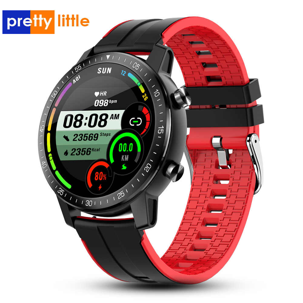 PS30 Intelligente Della Vigilanza Delle Donne Degli Uomini di Lunga Durata Della Batteria IP68 Impermeabile smartwatch HR/BP Frequenza Cardiaca Fitness Tracker Orologio per IOS Android