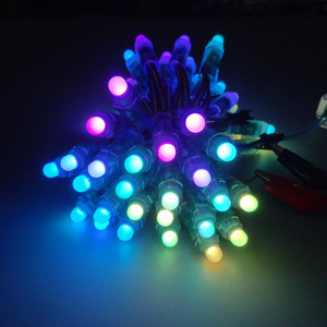 Image 4 - 50pcs 12mm WS2811 Full Color LED Pixel Light Module DC 5V IP68 waterproof RGB color 2811 1903 IC Digital LED christmas Light