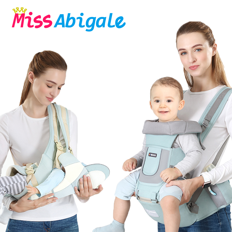 MissAbigale Ergonomic Baby Carrier Kangaroo Backpack Sling For Newborns Baby Hipseat Carrier Front Facing Baby Wrap Baby Holder|Backpacks & Carriers| |  - AliExpress