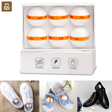6pcs Youpin Clean Fresh Shoes Deodorant Dry Deodorizer Air Purifying Switch Ball Shoes Eliminator for Home Shoes