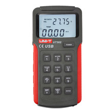 UNI-T UT362 Anemometer Wind Speed Tester Wind Count Measurement Unit Switch LCD Backlight USB Data Transmission Temperature digital anemometer wind speed air volume humidity measurement tester backlight display support usb real time