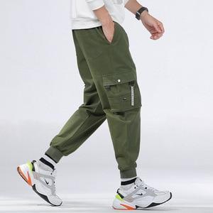 Image 5 - Cargo Pants Men Many Pockets Cotton Camo Camouflage Pantalones Tactical Militar Jogger Sweatpants Teenager 7XL 8XL Male Trousers