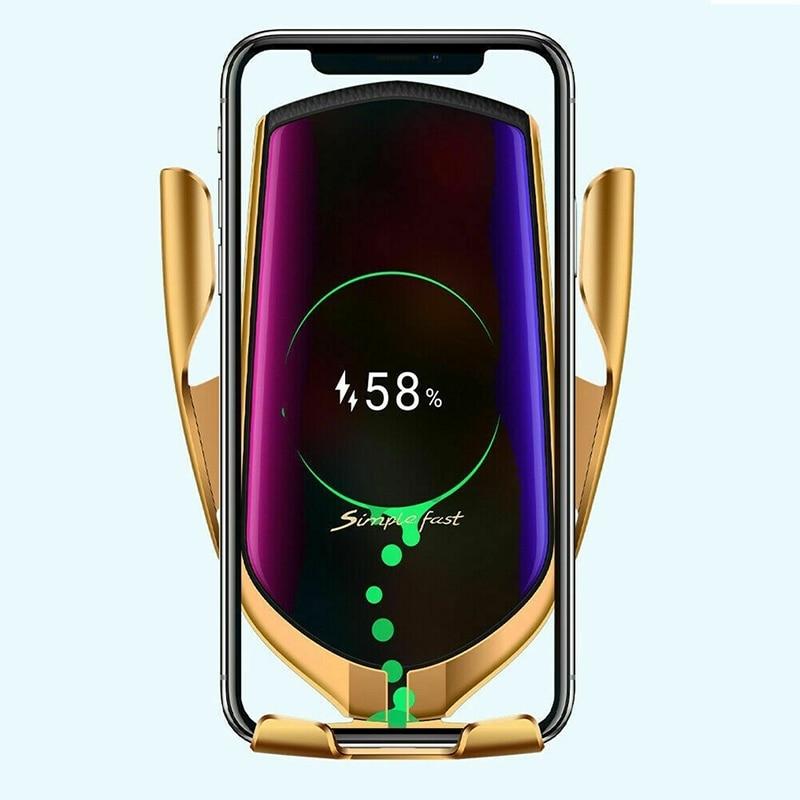 Chargeur Sans Fil de Voiture à Induction pour Samsung S10 S9 S8 Plus Note10 A50 10W Chargeur Sans Fil à Charge rapide Chargeur Sans Fil Voiture