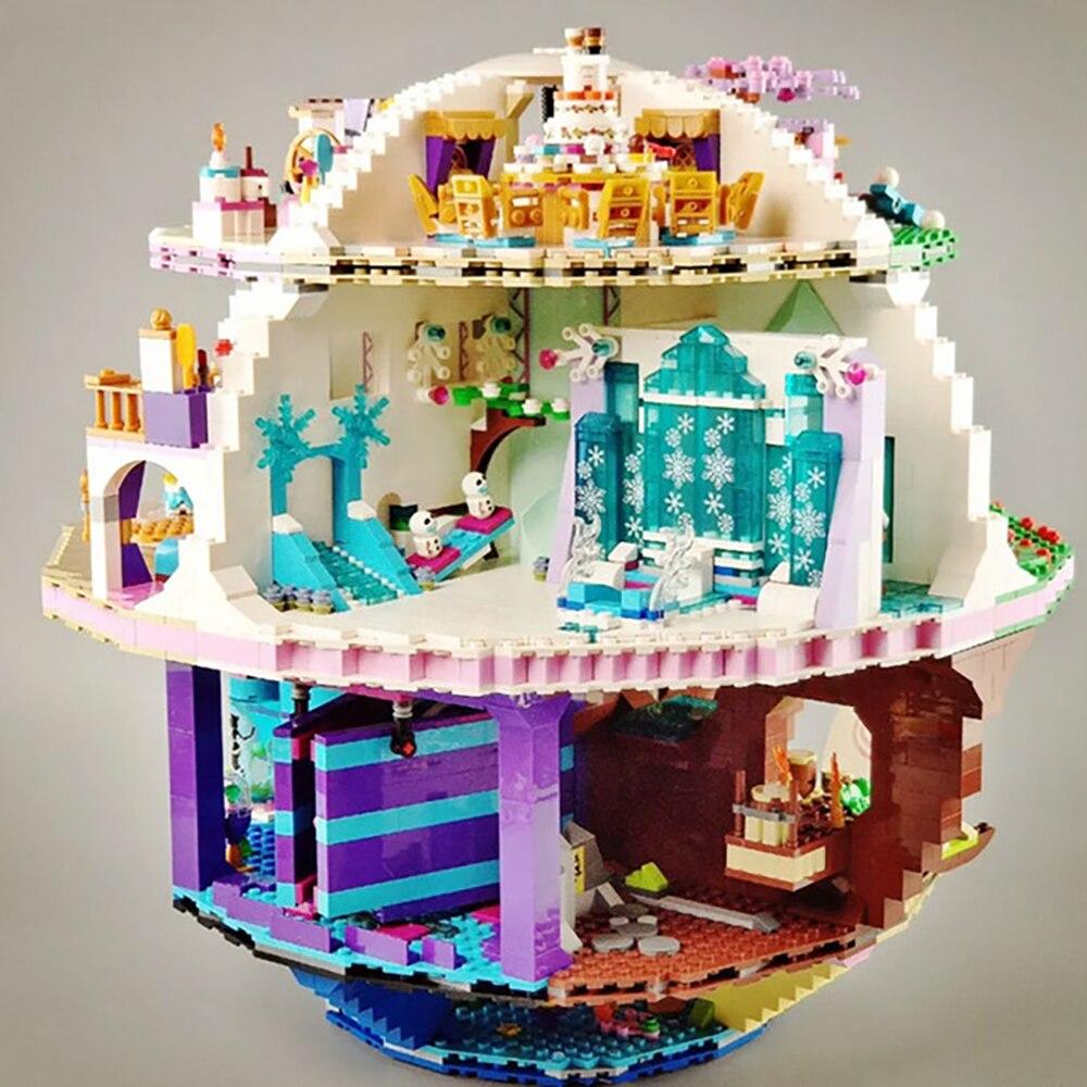 В наличии фильм серии 4160 шт. комплект наряда принцессы звезда несколько модель конструкторных блоков, Детские кубики, развивающие игрушки для детей, подарки на день рождения 6