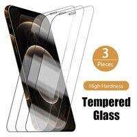 1/2/3/pieza de vidrio templado para el iphone 7 plus Protector de pantalla para iPhone 6 6s 7s 7s 8s 8 8s X XS X Max XR