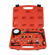 цена на 0-140 PSI Fuel Injection Pump Injector Tester Pressure Gauge Gasoline