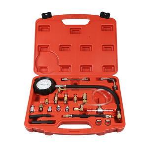 0-140 PSI Fuel Injection Pump Injector Tester Pressure Gauge Gasoline
