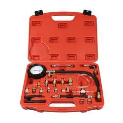 Probador de inyector de Bomba de Inyección de combustible 0-140 PSI indicador de presión gasolina