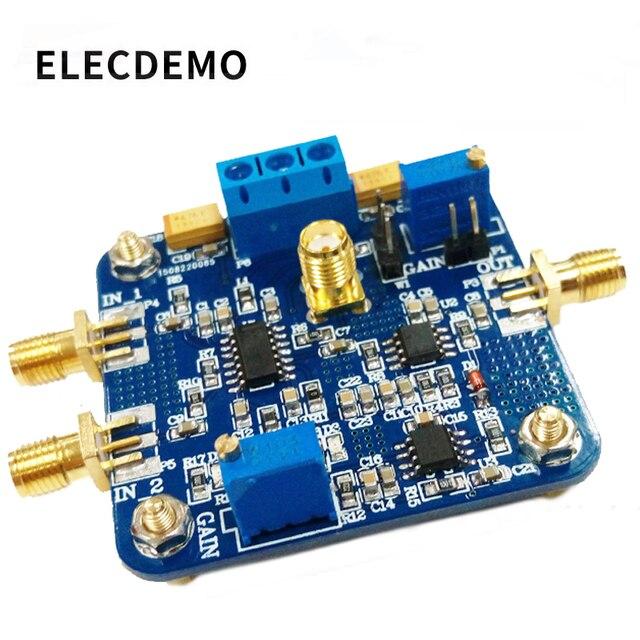 VCA821 モジュール電圧制御利得アンプ AGC 電子レースモジュール本物保証 350 メートル帯域幅