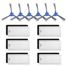 Replacement Filters Brushes Compatible with Eufy RoboVac 11S, 30C, 30, Accessories Parts 6 +