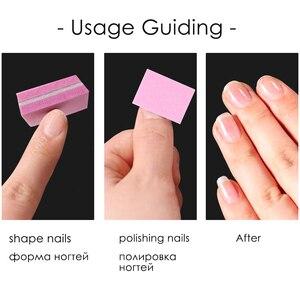 50/25 шт набор блоков наждачная бумага для ногтей 180/100 шлифовальные пилки для ногтей мини печь для обжига известняка буфы маникюрные аксессуары наборы BE1824 1|Пилки для ногтей и буферы|   | АлиЭкспресс
