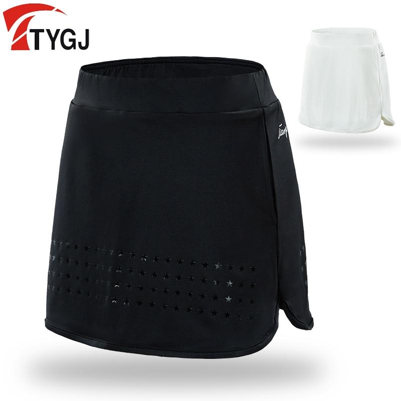 Women Skort Golf Skirt Ladies Short Skirt Summer Badminton Sports Skirt  Anti-Emptied School Tennis Mini Dress