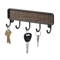 Schlüssel Halter Wand Handtuch Haken Key-Rack Veranstalter Vintage Design Eingangsbereich Küche Wand Montieren Bad Bronze Wand Haken Dekoration