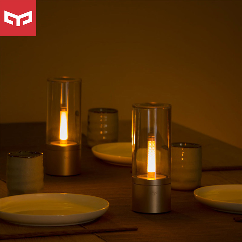 Yeelight Smart Candle Light Indoor Yeelight Night Light Bedside Lamp Remote Touch Control Smart App Romantic Gift Smart Remote Control Aliexpress