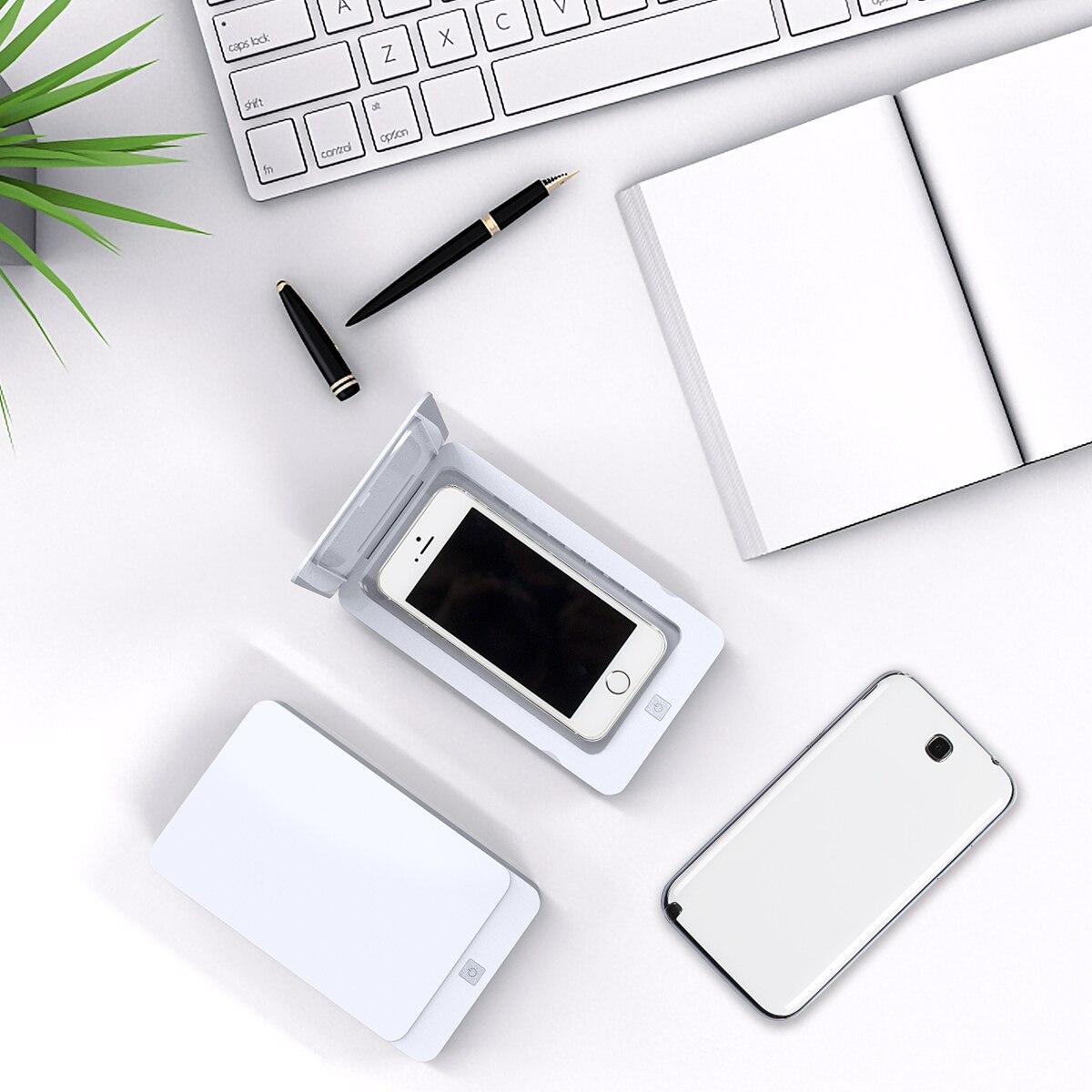 UV Cell Phone Sanitizer Disinfection Box UV Light  Sterilizer Smart Phone Sanitizer Multifunctional Portable UV Disinfector