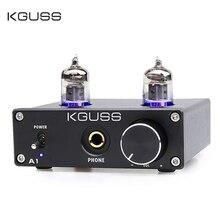 цена на KGUSS A1 MINI 6J1 audio tube bile headphone amplifier 6K4 tube pure bile amp hifi vacuum tube bile headphone amplifier