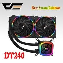 DarkFlash Aigo CPU Waterkoeler 120mm Mute PC Fan Liquid Fluid Cooling Radiator Aluminium Water Cooler Radiator Intel/ AMD Ondersteuning