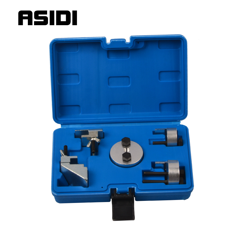 Auxiliary Elasticated Stretch Ribbed Pulley Drive Belt Removal Installation Tools