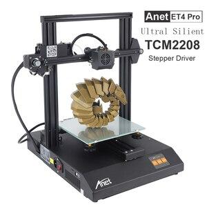 Anet ET4 Pro/ET4 3D Printer TMC2208/A4988 Support Resume Power Failure Printing FDM 3d Printer Kit DIY with 10M Filament(China)