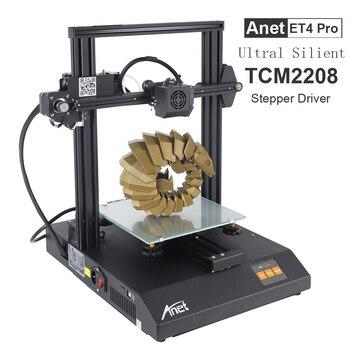 Anet ET4 Pro/ET4 3D Printer TMC2208/A4988 Support Resume Power Failure Printing FDM 3d Printer Kit DIY with 10M Filament