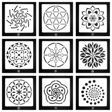 Layering Stencils DIY For Wall Painting Scrapbook Mandala style Coloring Embossing Album Paper Card New Template Decoration 1Pc