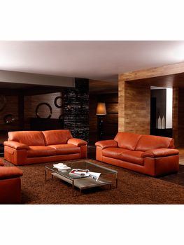high quality genuine leather sofa modern Nordic couch living room sofa furniture home feather sofa set 1+2+3 seater popular modern black nappa genuine leather sofa set for living room