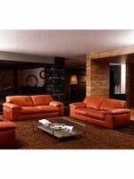 high quality leather sofa modern sofa living room sofa living room furniture home furniture/feather sofa set 1+2+3 seater