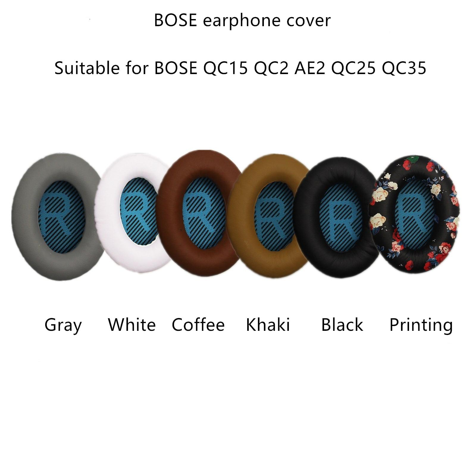 2pcs For BOSE QC2 QC15 AE2 QC25 QC35 Headphones Set Sponge Earmuffs Earphones Headphones Headphones Accessories