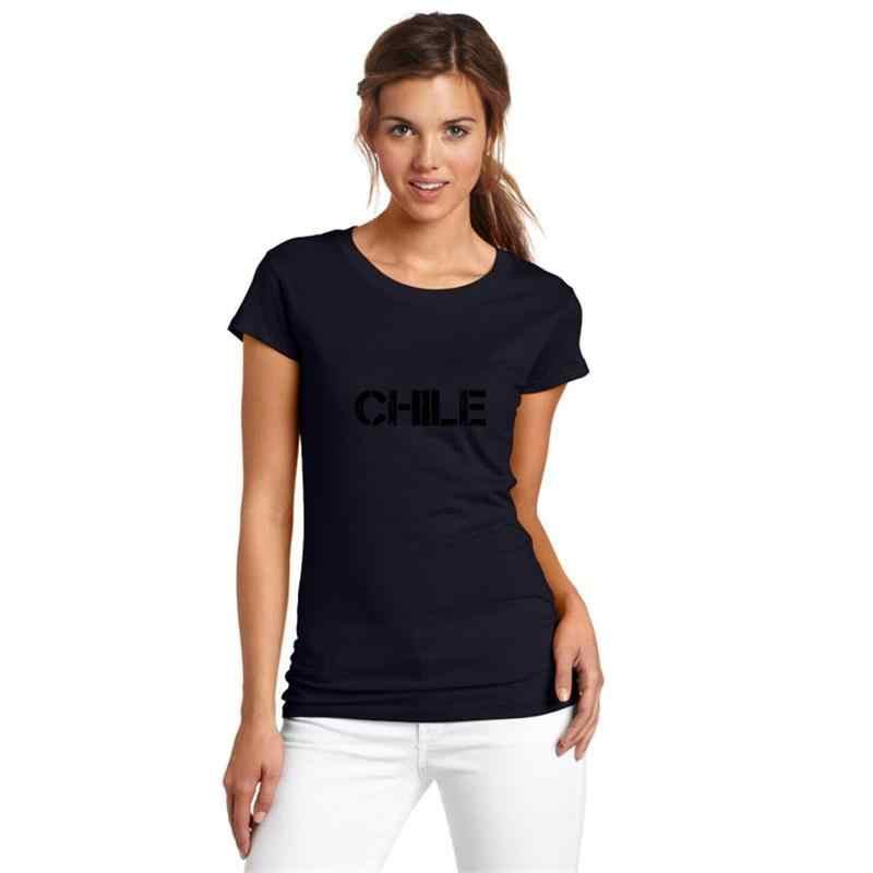 Śmieszne Chile koszulka luźny rozmiar 83xl humorystyczny nightmare before christmas kobiety superbohaterki koszulki z krótkim rękawem