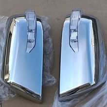 Voor Toyota Sequoia Chrome Cover Mirror met LED Licht