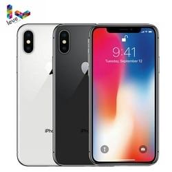 Перейти на Алиэкспресс и купить apple iphone x face id 4g lte original ios 64gb/256gb rom 3gb ram hexa core 5.8дюйм. 12mp dual back camera unlocked mobile phone