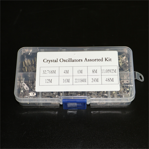 Oscillator-Kit Resonator Crystal Hc-49s 8mhz 12mhz Electronic 4mhz 6mhz Quartz Ceramic