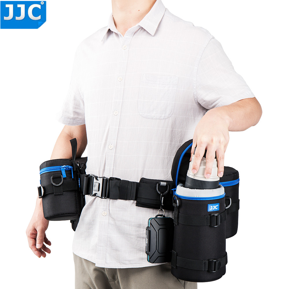 Universal Camera Waist Belt Holster with 6 D Rings for Photography Accessories Utility Photography Waist Strap Belt Photo Pro Speed Belt Camera Waist Belt Harness Adjustable Waist Belt for Camera