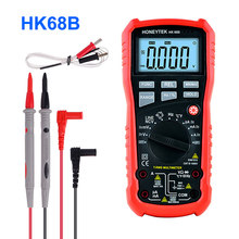 Digital Multimeter Temperature ESR Capacitor Tester Meter 10nF ~ 100mF True RMS DC/AC Frequency 10Hz~10MHz Voltage Indicator(China)