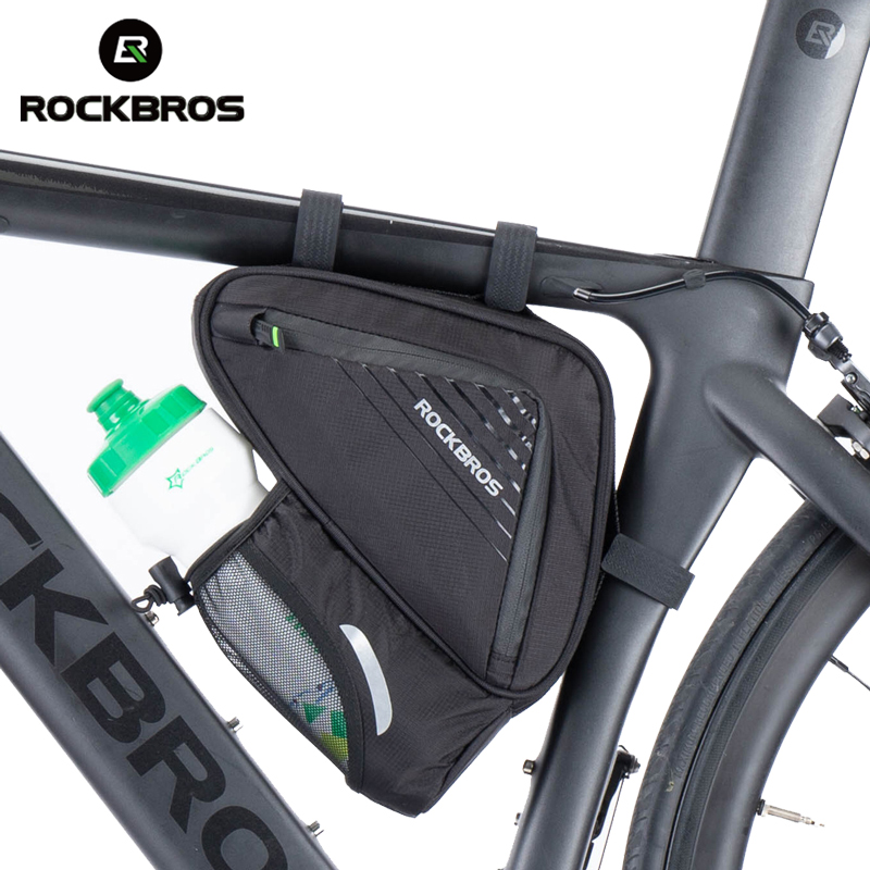 Bicycle Saddle Bag Frame Triangle Bag Cycling Bike Tube Pouch Holder Practical