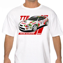 2019 Cool T-Shirt Classic Celica  Japanese Car Fans Team Rally T Shirt White Or Gray Gt-Four St205 Funny Tee Sweatshirt