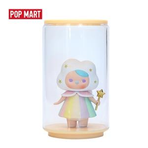 Image 5 - Popmartおもちゃディスプレイ缶ランダムプラスチックボックスギフト送料無料