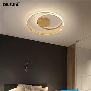 Image 2 - Modern Ceiling Lights For Living Room Bedroom Study Room dinning room White /black/gold color surface mounted Ceiling Lamp