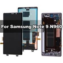Оригинальный amoled дисплей для samsung galaxy note 9 n960f