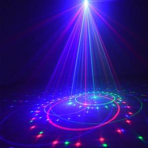 Image 5 - RGB Laser Projector 24 Big Patterns Outdoor Laser Light Garden Waterproof Christmas Landscape Xmas Tree Show Lazer Lighting