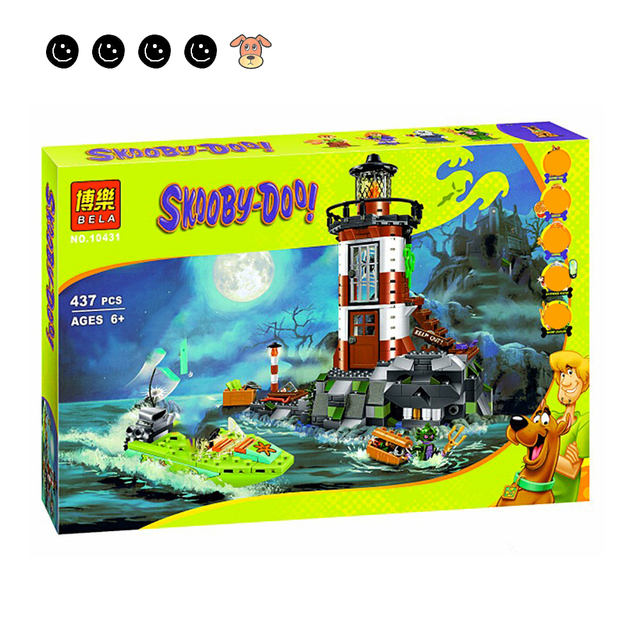 Fit 75903 Scooby Doo Haunted Lighthouse Set Animal Dog Mini Figure Bela 10431 Building Blocks Toys For Children Gifts 4