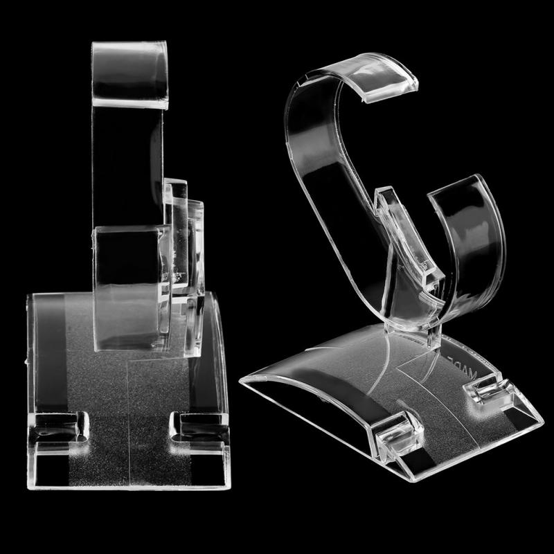 Transparent Acrylic Watch Display Holder Simple Smart Watch Holder Rack Hot Selling Lightweight Stand Watch Rack Display