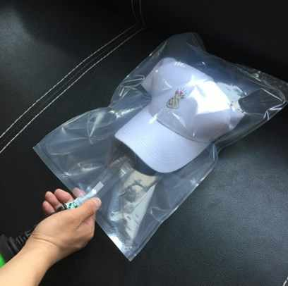 100Pcs Kacamata Bisbol Cap Kemasan Terbuka Kolom Packing Tas Buffer Bag Tekanan Pertahanan Kemasan Menambahkan Tebal Dua Sisi