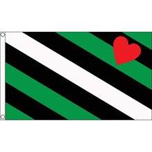 Boi orgulho bandeira 150x90cm lgbt arco-íris gay bandeira cor vívida decoração presente casa festa 100d poliéster interior ao ar livre