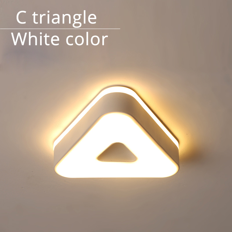 C triangle white
